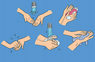 gambar cara mencuci tangan www.simplenews.me
