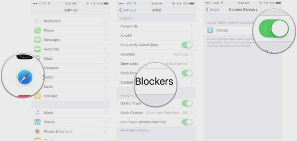 Install Aplikasi Content Blockers di iPhone