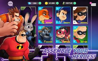 Disney Heroes Battle Mode Apk for Android Terbaru