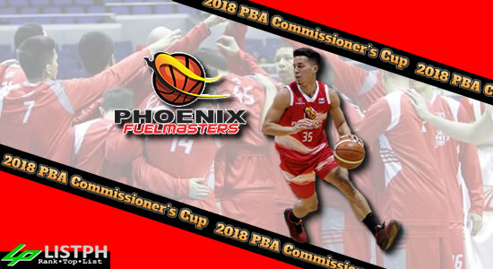 List of Phoenix Fuelmasters Roster 2018 PBA Commissioner's Cup