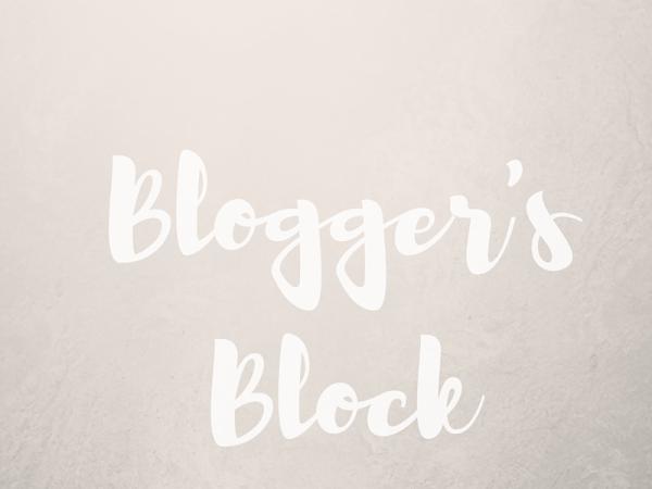 Blogger's Block.