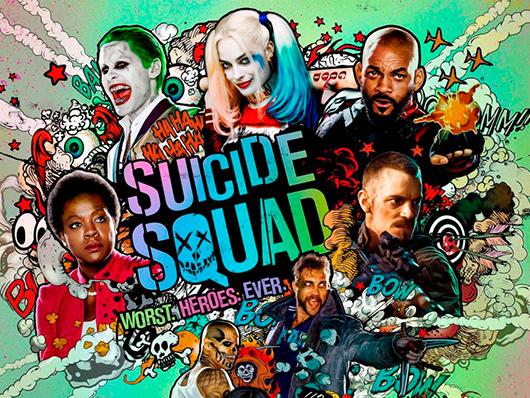 Nuevo y espectacular tráiler de 'Escuadrón Suicida' presentado en Comic-Con de San Diego