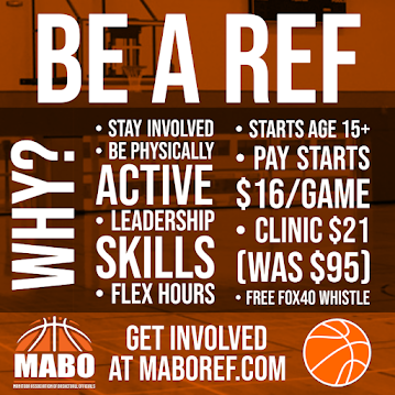 🏀 BE A REF