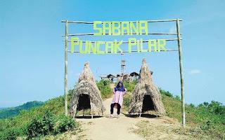Sabana Puncak Pilar, Wisata Alam Baru Di Sukabumi