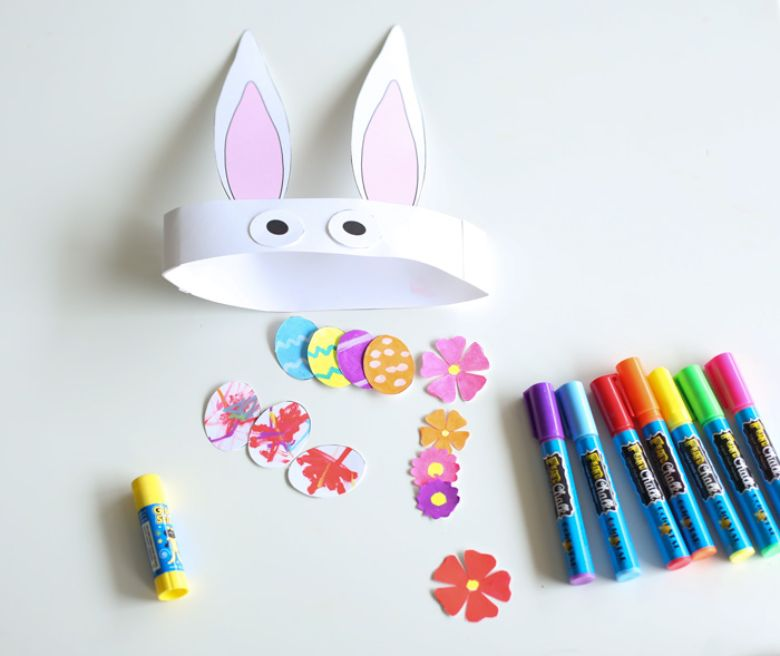 Easter crafts for toddlers - Easter mask craft