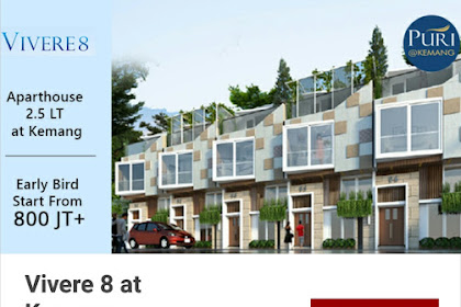 Vivere 8,Aparthouse 2.5 LT At Kemang