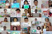 IWPG Menyebarkan Pesan Perdamaian melalui Seni Kepada Anak-anak Indonesia