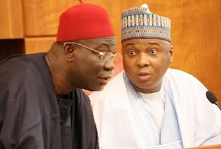Oyegun's Outburst: PDP Back-down On Saraki, Roots For Ekweremadu, APC Senators Oblige