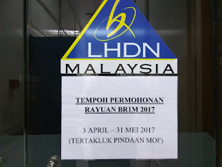 Tempoh Rayuan BR1M