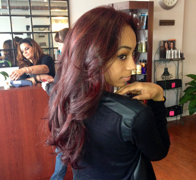 Red Hair Color Rinse (Hairstyle Updates - www.hairstyleupdates.com)