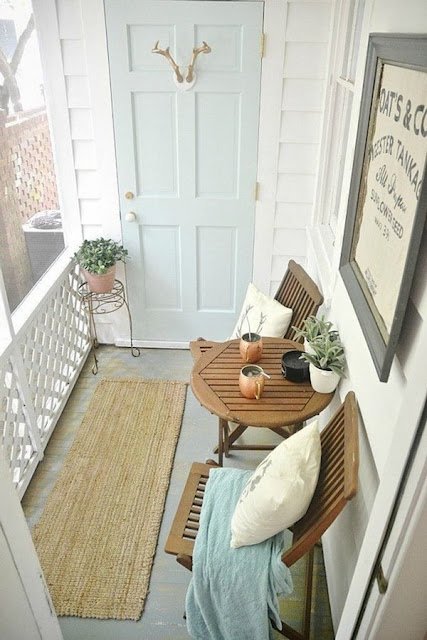 Ideas For Decorating Small Balconies 1