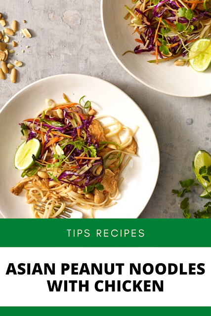 ✓ ASIAN PEANUT NOODLES WITH CHICKEN