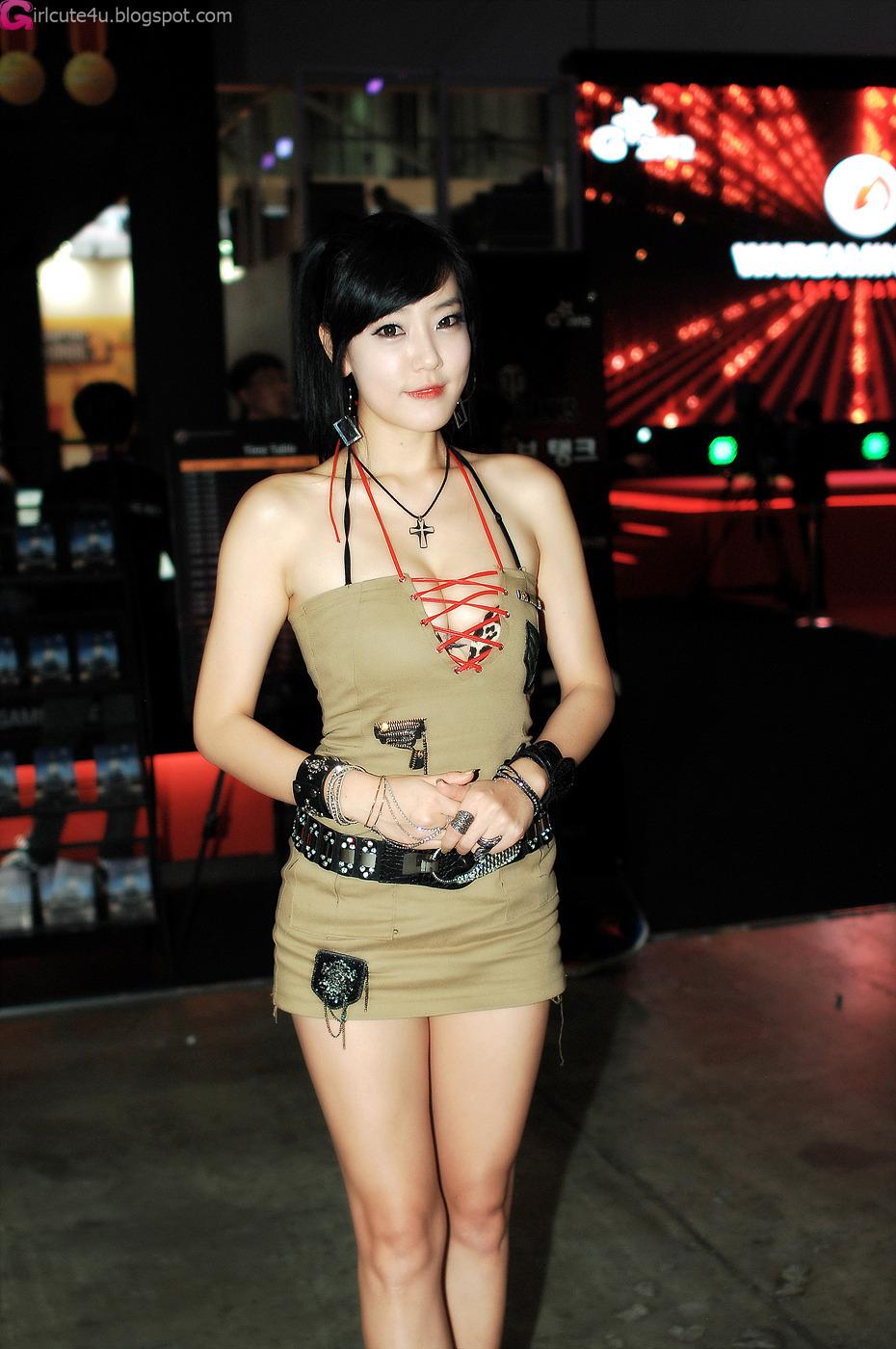 xxx nude girls: Ryu Ji Hye at G-STAR 2012