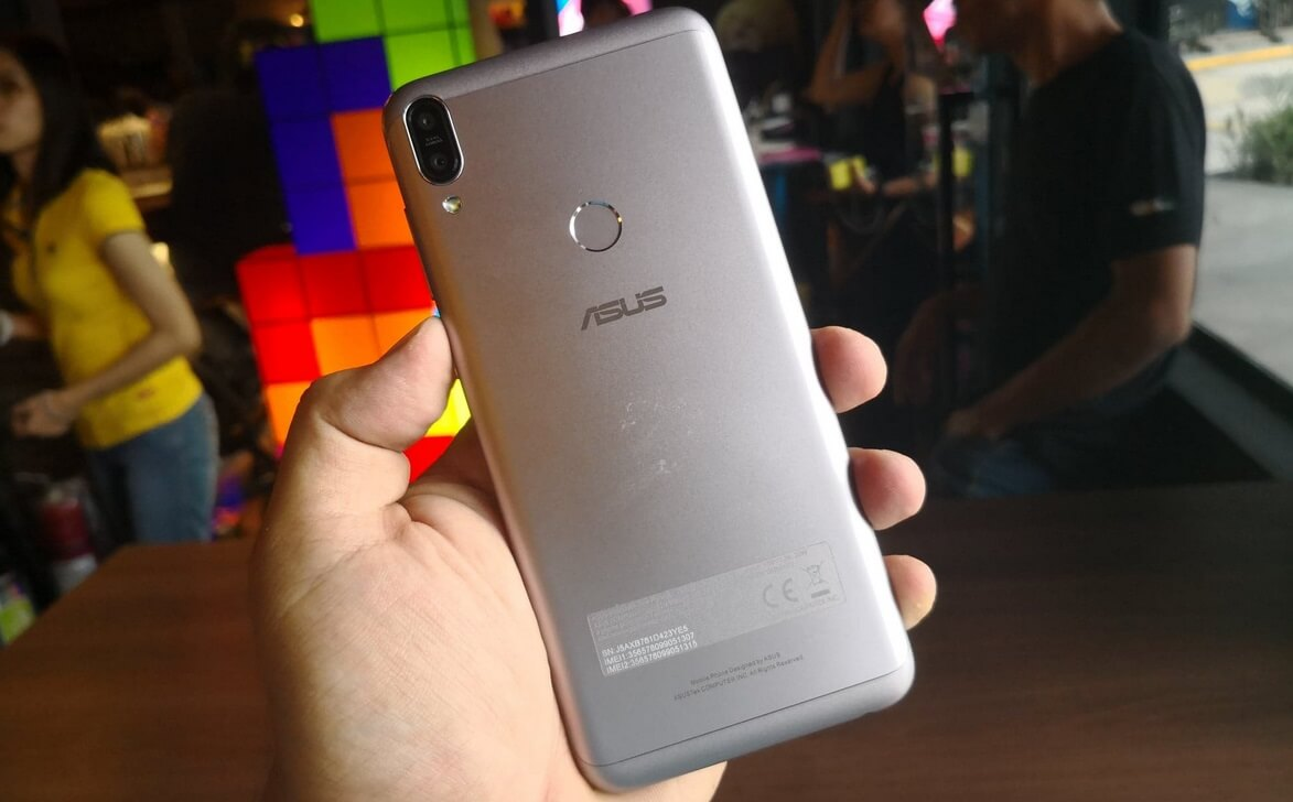 Asus ZenFone Max Pro M1 Dual Rear Cameras and Fingerprint Scanner
