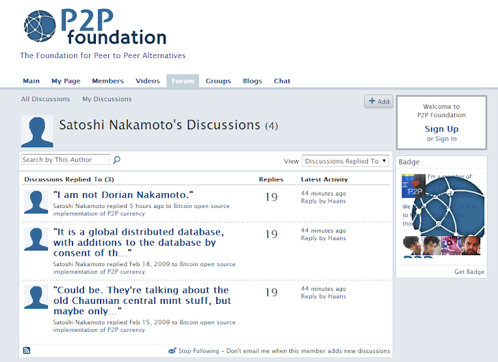 Satoshi Nakamoto - The Mysterious Bitcoin Creator finally