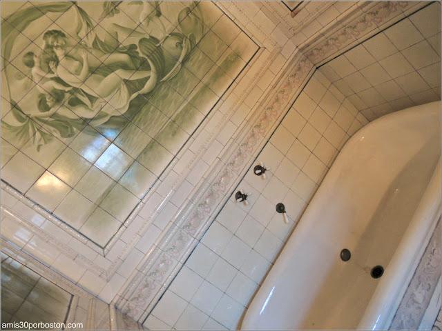 Bañera de la Mansión de John Brown en Providence, Rhode Island
