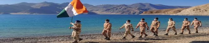 Indian Security Forces Planning To Hold Exercise To Enhance Synergy In Ladakh