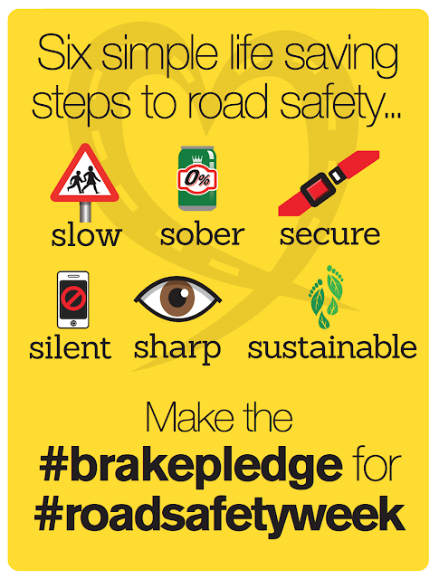 Braker Road Safety Campaign Poster 2016