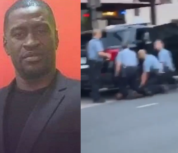 George Floyd: Black man dies after US police pin him to ground
