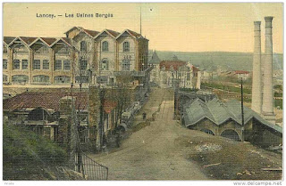 carte postale ancienne imprimerie Lancey