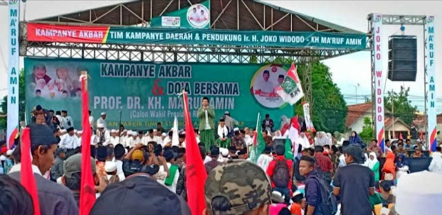 Kiai Mama'; Kalau Mau Dapat Doa Kiai Annuqayah, Pilih Jokowi-Ma'ruf