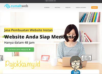 Jasa Pembuatan Website oleh Rumahweb