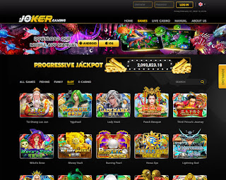Provider slot jokergaming online terpopuler karena permainan mancing ikan-nya.