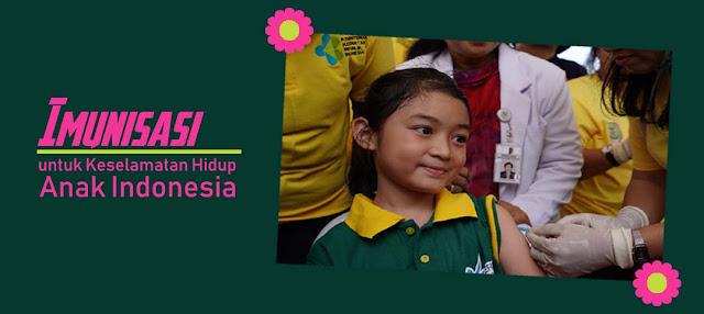 Imunisasi untuk Keselamatan Hidup Anak Indonesia