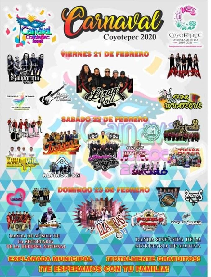 Carnaval Coyotepec 2020