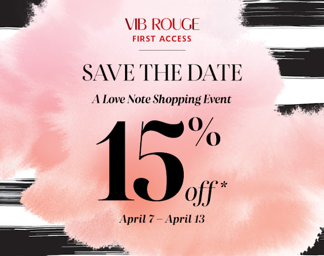 Sephora Love Note 15% OFF Sale Coupon Code April 2016