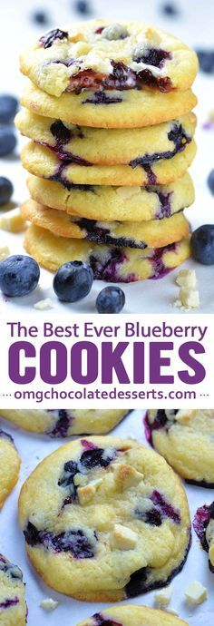 Best Ever Blueberry Cookies  #Cookies #Cookiesrecipe #Bestcookies Italiancookies #Canadiancookies #Blueberry #Dessert #Bestdessert #Americandessert