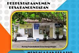Profil Perpustakaan Desa Banguntapan Bantul Yogyakarta