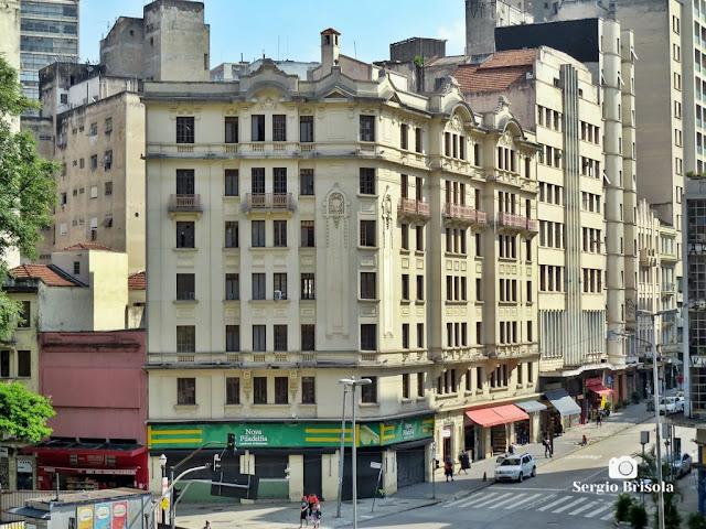 Vista ampla do Prédio Samuel Rochwerger - Centro - São Paulo