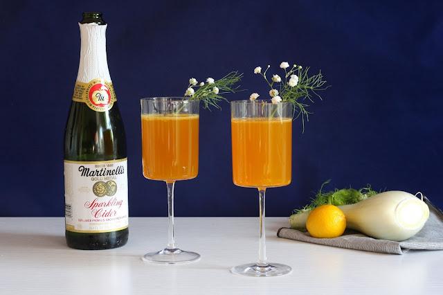 Golden Orchard Fennel Mocktail