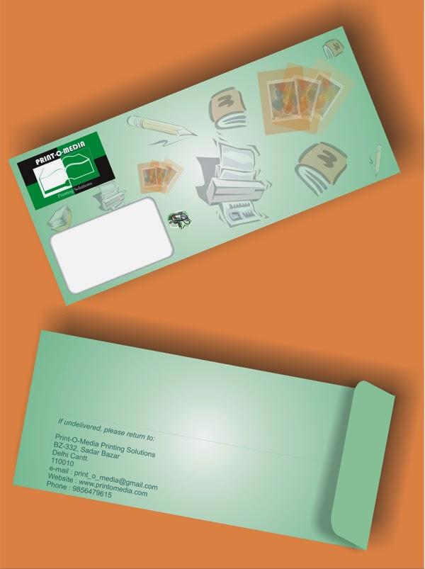 Print-o-Media Envelope