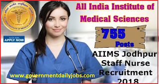 AIIMS Jodhpur Recruitment Latest News
