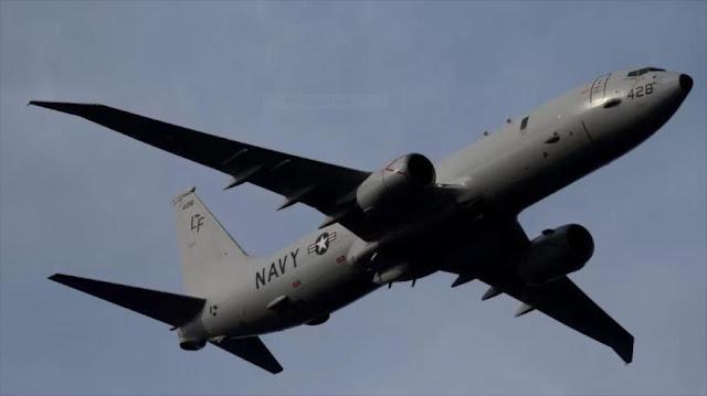 Detectan avión espía de EEUU que se acercaba a base rusa en Siria