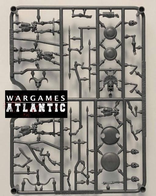 Breaking! Wargames Atlantic: New Plastic Fantasy Classical Greek Skeleton Warriors Sprue