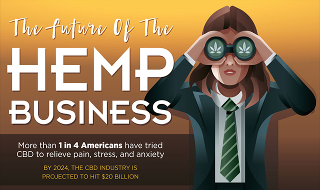 The Hemp Business Future #infographic