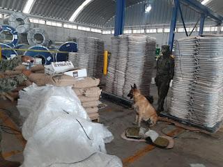 SEMAR, Aduanas y FGR decomisan más de una tonelada de marihuana en el puerto de Manzanillo