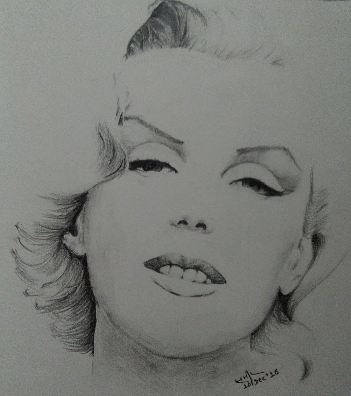 Portrait of Marilyn Monroe 2
