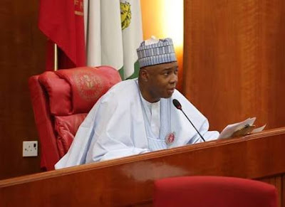 Saraki Replies Buhari's Loyal Senator, Adamu: