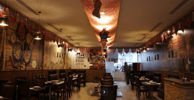 مطعم ليلة الهند
