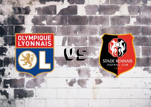 Olympique Lyonnais vs Rennes  Resumen