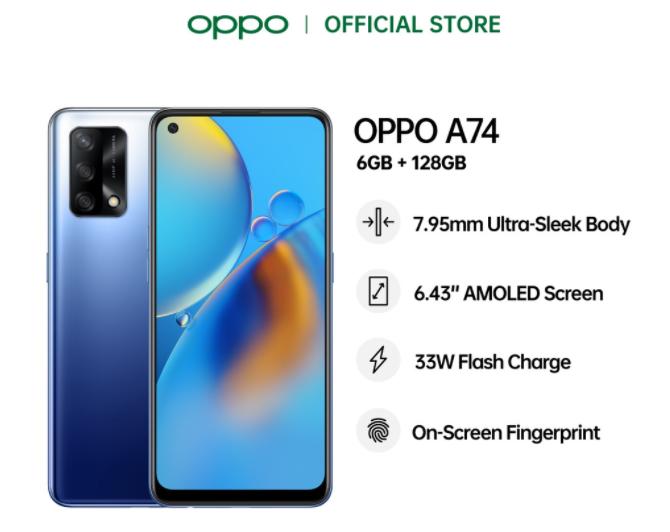 smartphone Oppo bawah RM1000