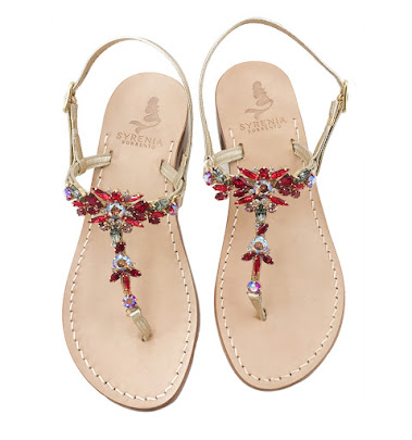 Hawaii - Red Jewel Sandals