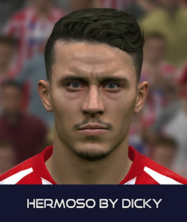 PES 2017 Faces Mario Hermoso by Dicky