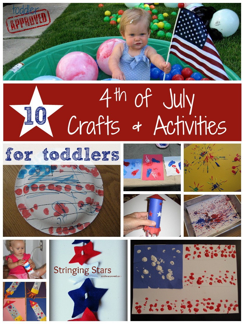 Toddler Approved 10 Fourth Of July Crafts And Activities