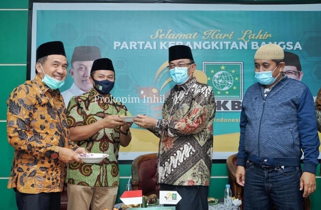 Harlah ke-22 PKB, Bupati Inhil, Riau Ajak Bersinergi Bangun Daerah