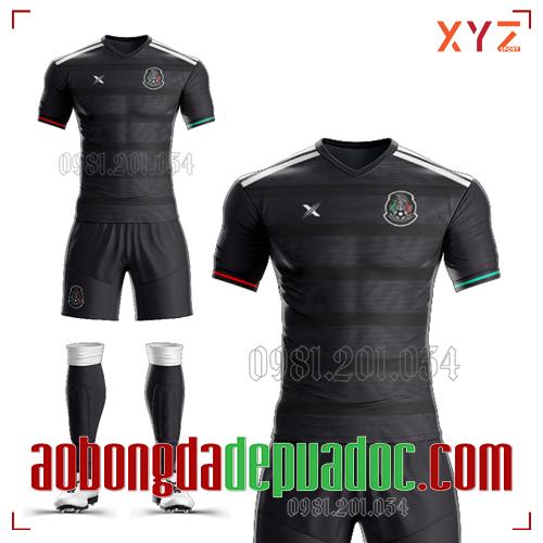 Áo Mexico 2020 Sân Nhà Màu Đen Đẹp Và Độc